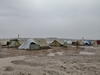 Regn og vinterstormer skaper uutholdelige levevilkår for flyktninger på rømmen fra krig og terror i Syria.