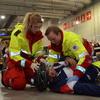 Ambulanselærlinger i aksjon under Yrkes-NM.