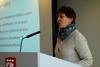 Optimist: Mette Nord, leder av Fagforbundet, innleder om tariffoppgjørene 2014.