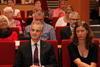 Nyvalgt leder i Ap møter landsstyret i Fagorbundet.