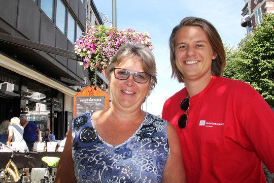 Leder av Fagforbundet Kristiansand, Gudrun Helene Benestad og regionsekretær i Agder, Lars Berge tar utfordringer med verving i private virksomheter, kommunereform og  regionreform på strak arm. Hardt arbeid og lokal forankring er en god oppskrift.