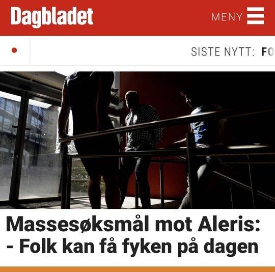 Skjermdump fra Dagbladet, 11. august 2018